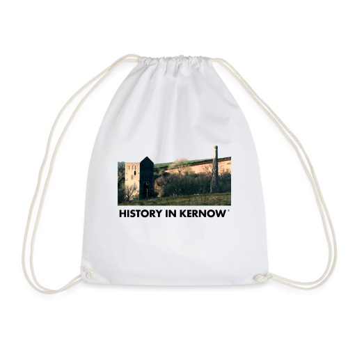 HISTORY IN KERNOW EAST WHEAL ROSE - Drawstring Bag