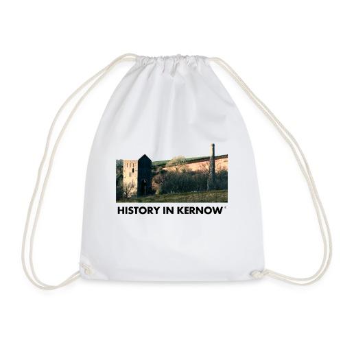 HISTORY IN KERNOW EAST WHEAL ROSE - Drawstring Bag