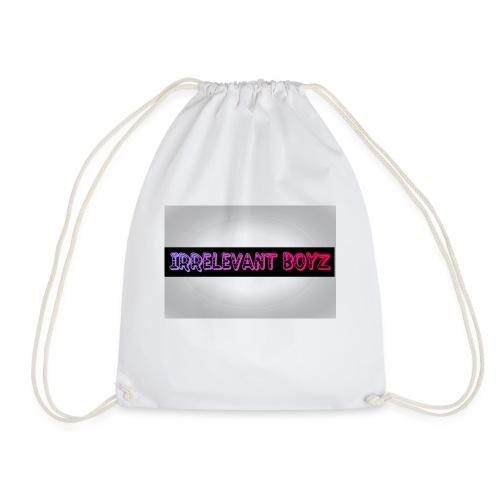 Irrelevant Boyz Grey And Luminous - Drawstring Bag