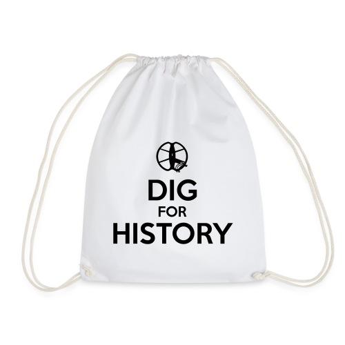Dig for History 1 - by detonateur - Black - Sac de sport léger