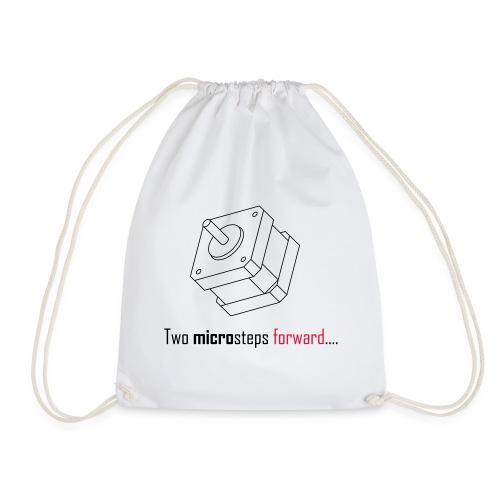 Two microsteps forward.... - Drawstring Bag