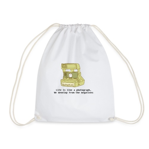 Photographic Lives - Drawstring Bag