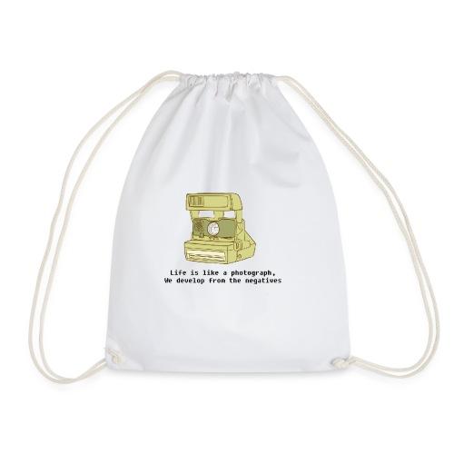 Photographic Lives - Drawstring Bag
