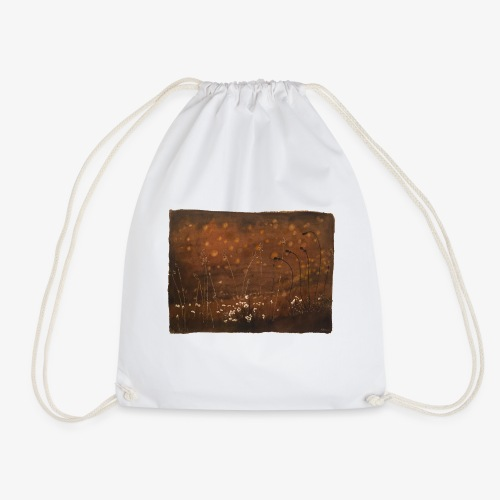 Champ marron - Drawstring Bag