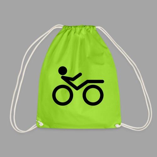 Recumbent bike black 2 - Jumppakassi