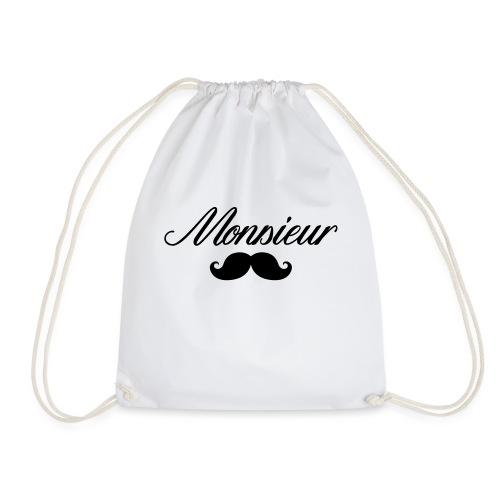 monsieur moustache logo - Sac de sport léger