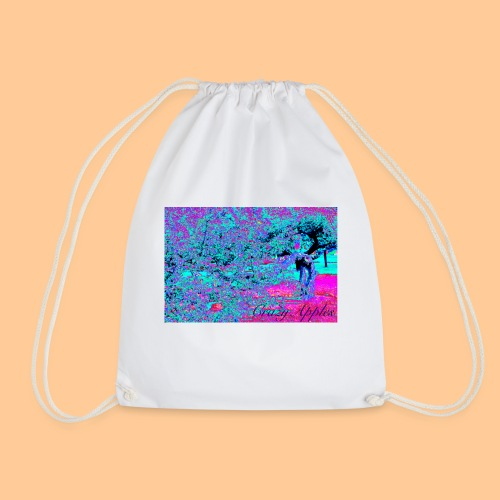 Crazy Apples /turquoise-pink - Gymbag
