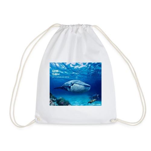 SAVE THEM fww sea - Mochila saco