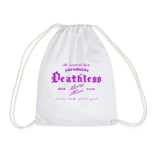 deathless living team violet - Turnbeutel