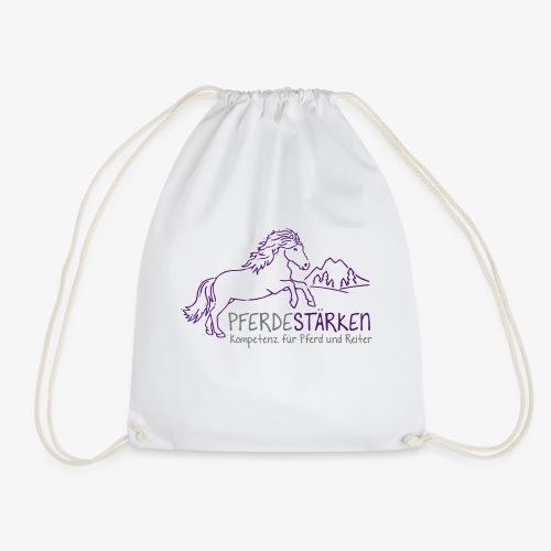 mareike pferdestaerken logo fin3 spreadshirt - Turnbeutel