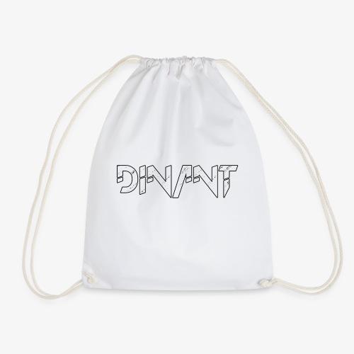 Dinant logo wit - Gymtas