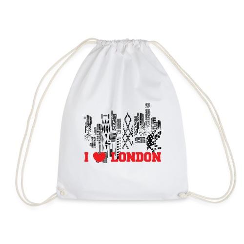 I LOVE LONDON SKYCRAPERS - Mochila saco