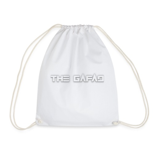 The Gafad - Official White Logo - Sacca sportiva