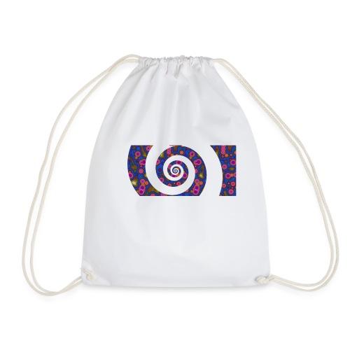 spiral - Drawstring Bag
