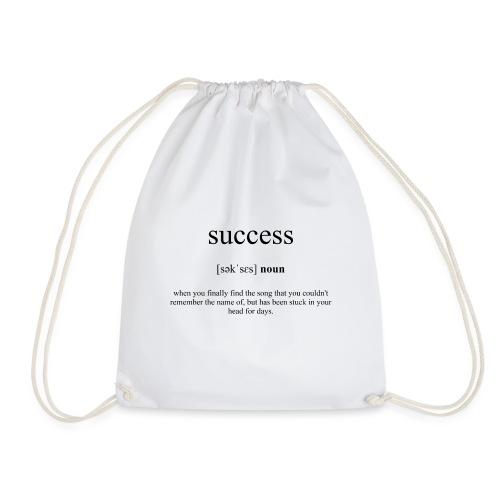 Success (Erfolg) Definition Unisex T-Shirt - Turnbeutel