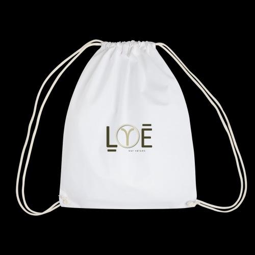 LOVE Our Values OV - Drawstring Bag