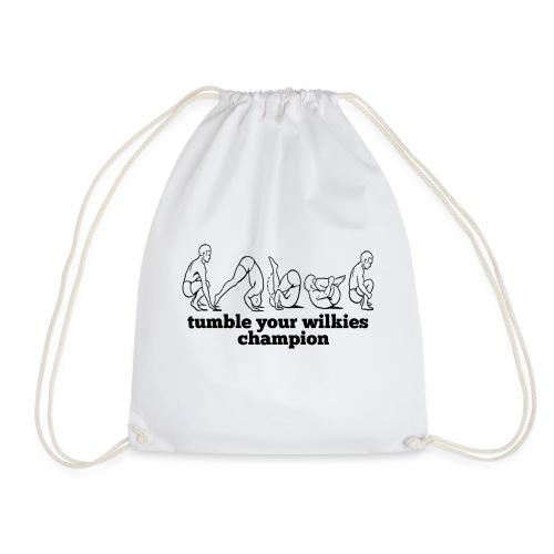 Tumble Your Wilkies - Drawstring Bag