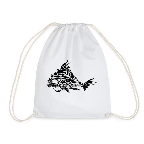 The Furious Fish - Drawstring Bag
