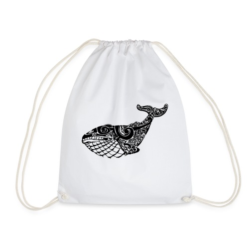 The Blue Whale - Drawstring Bag