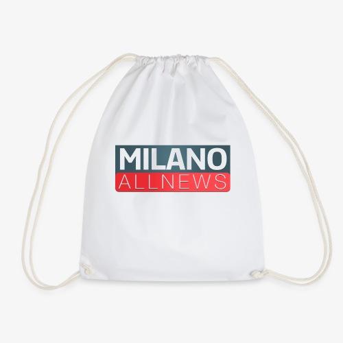 Milano AllNews Logo - Sacca sportiva