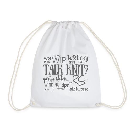Talk Knit?, gray - Jumppakassi