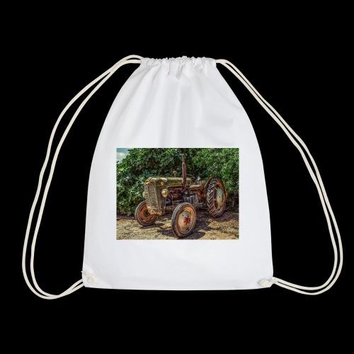 Traktor Oldtimer - Turnbeutel