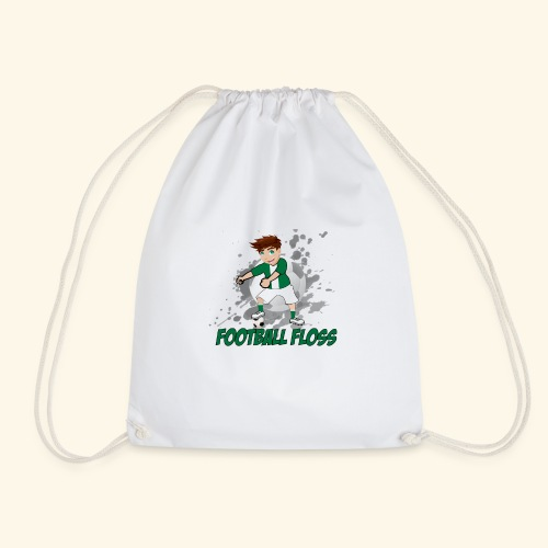 Hibees Football Floss - Drawstring Bag