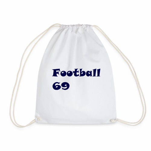 Fußball Football 69 outdoor T-shirt blue - Turnbeutel