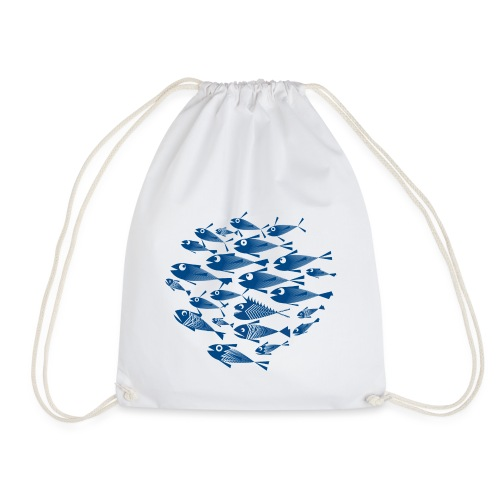 Banco di pesci / Banco del pesce - Sacca sportiva