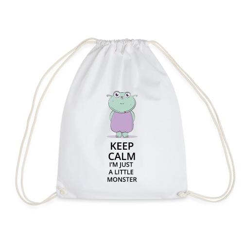 Keep Calm - Little Monster - Petit Monstre - Sac de sport léger