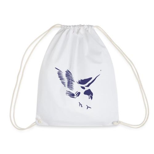 Aquila blu ed accessori - Sacca sportiva