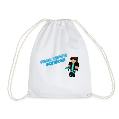 Nerd logo png - Drawstring Bag