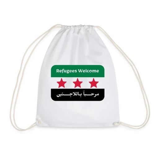 Refugees Welcome - Drawstring Bag
