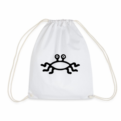 Latający Potwór Spaghetti - symbol LPS - Worek gimnastyczny