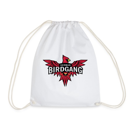 German Birdgang Logo White - Turnbeutel