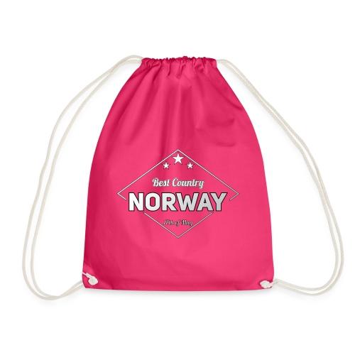 NORWAY - Drawstring Bag
