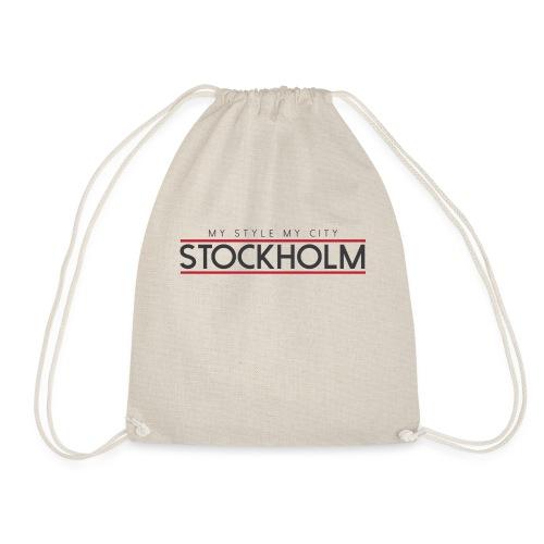 MY STYLE MY CITY STOCKHOLM - Drawstring Bag