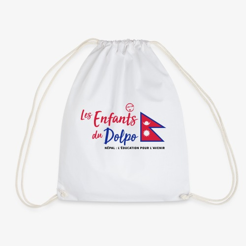 Les Enfants du Doplo - Grand Logo Centré - Sac de sport léger