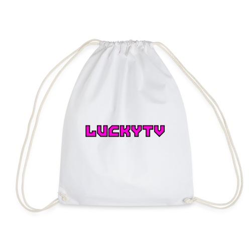 Lucky Tv TEXT 2 - Gymnastikpåse