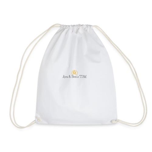 Ava and ben tdm - Drawstring Bag