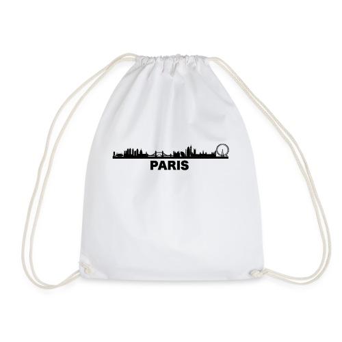 Verwirrendes Städte T-Shirt Paris London - Turnbeutel