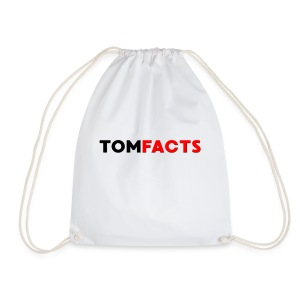 TomFacts - Drawstring Bag