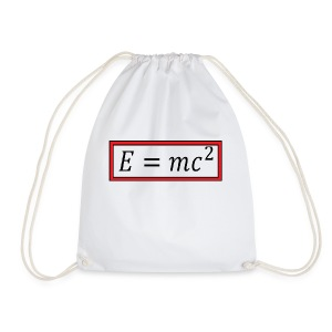 e = mc^2 - Drawstring Bag