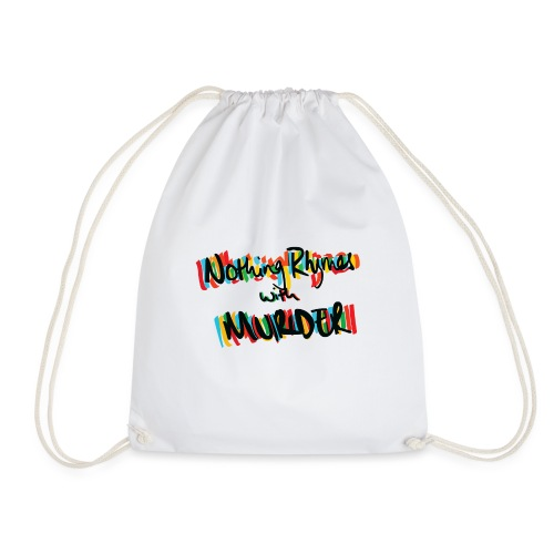 NRWM Podcast Original Logo - Drawstring Bag