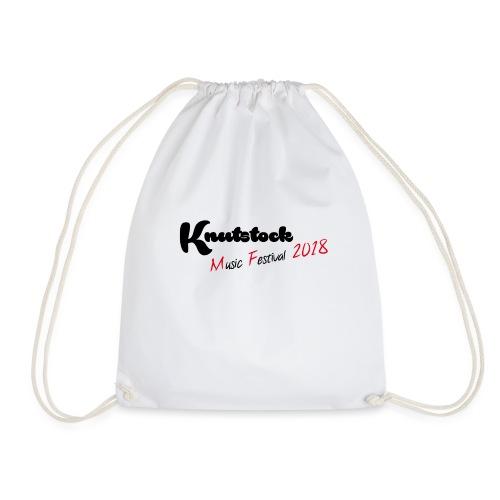 Knutstock MF Logo - Turnbeutel