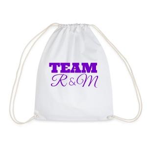 Team R N M Hoodie Purple, W - Drawstring Bag