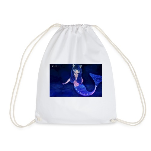 What? ... I'm a Purr-Maid! - Drawstring Bag
