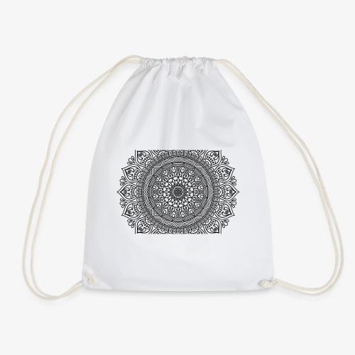 mandala3 - Drawstring Bag