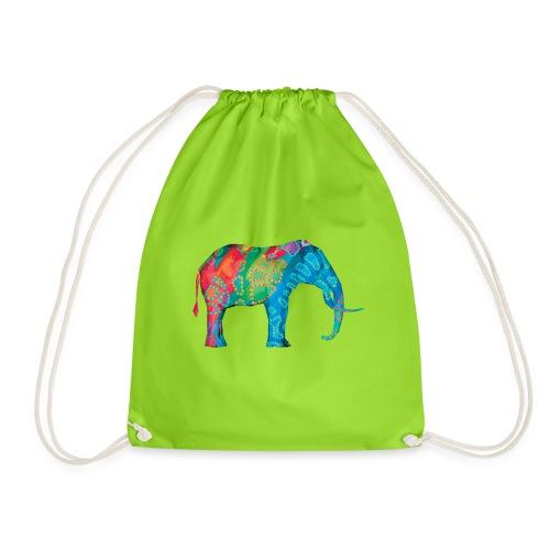 Elefant - Drawstring Bag