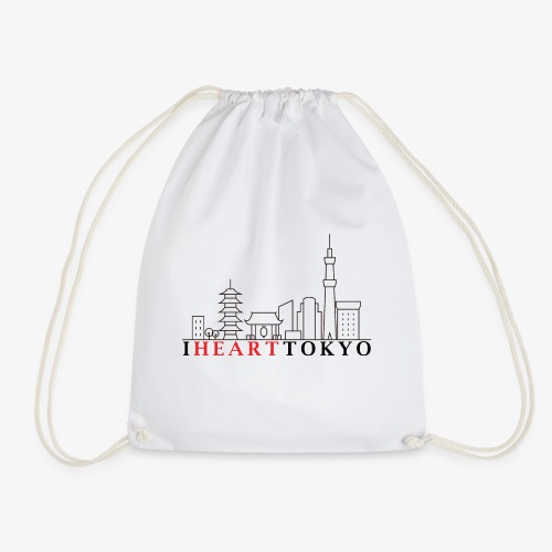 I HEART TOKYO Ver.1 - Drawstring Bag